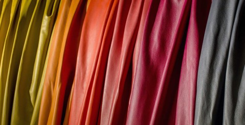 From textile products to leather